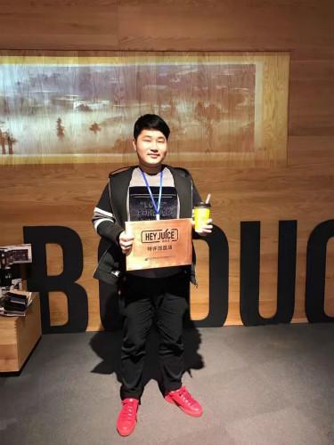 恭喜吴先生签约福州茶桔便加盟店