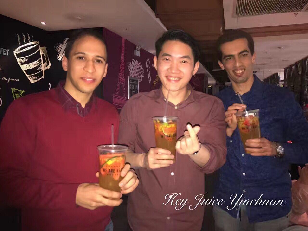 外国友人较爱茶桔便大果粒水果茶