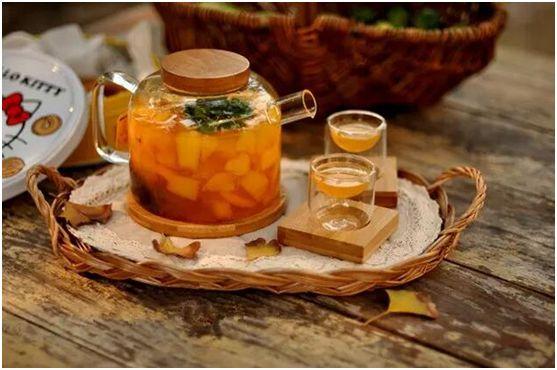 茶桔便水果茶制作