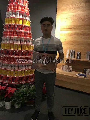 张先生签约常州地区茶桔理奶茶加盟店
