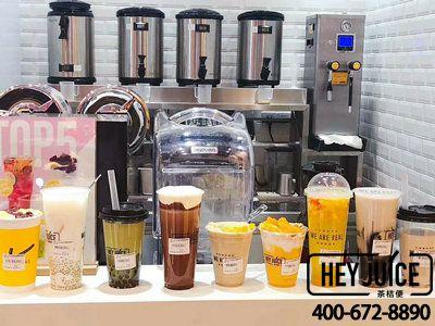 茶桔便加盟奶茶店