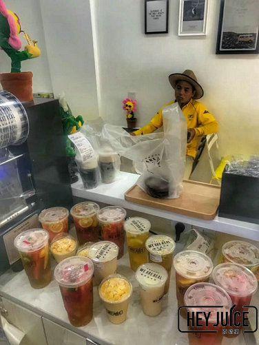 女性小本创业茶桔便奶茶加盟